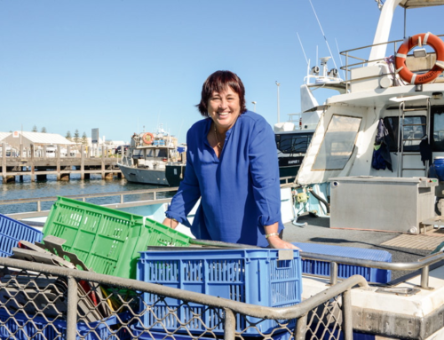 Leonie Noble – Woman in Seafood